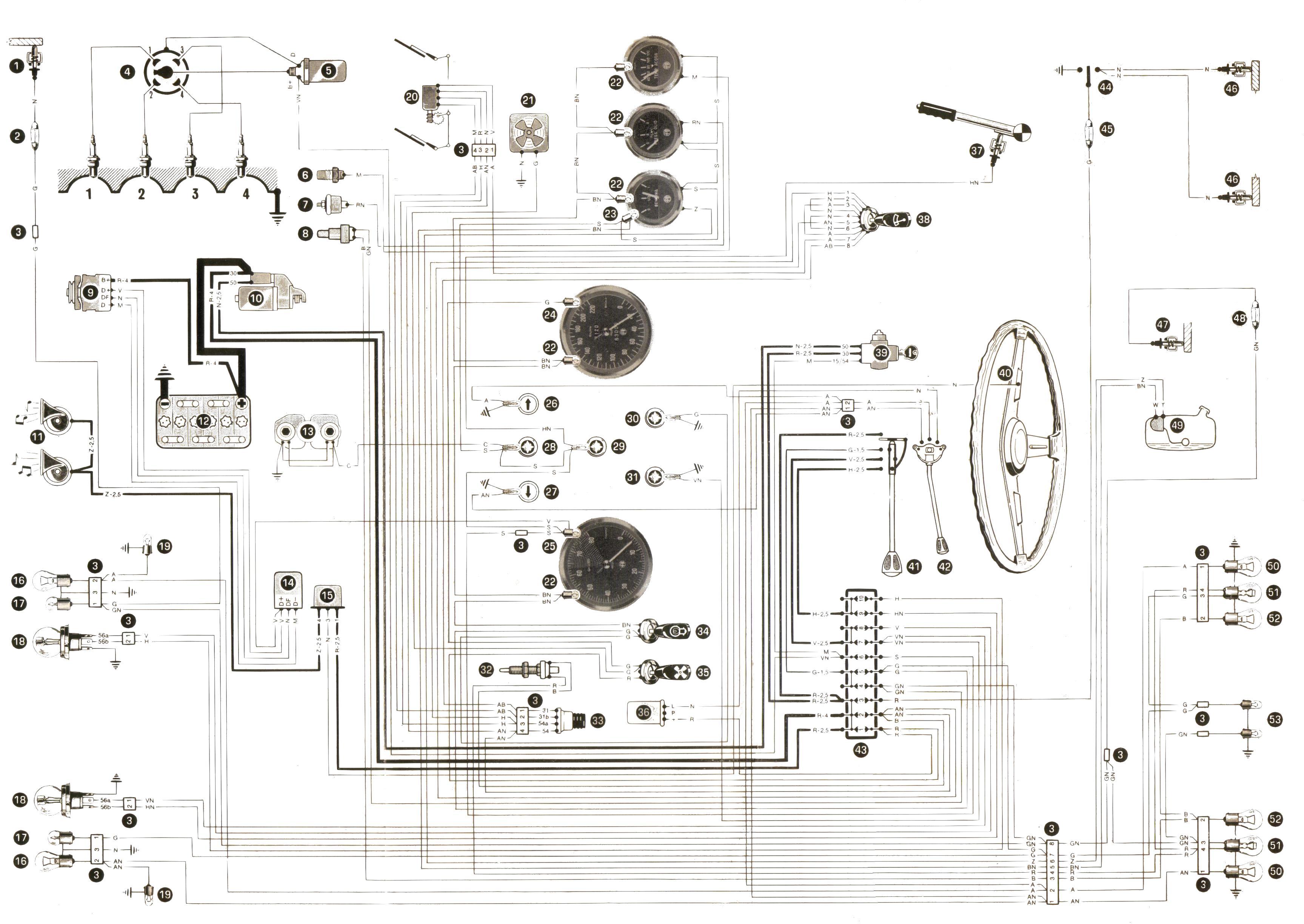schema elettrico navigatore alfa  schema elettrico rover